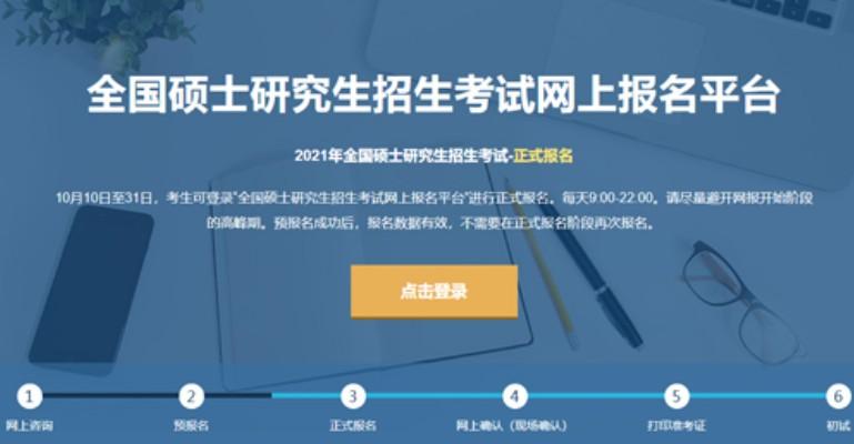 2021考研报名入口:考研报名时间及流程[多图]图片1